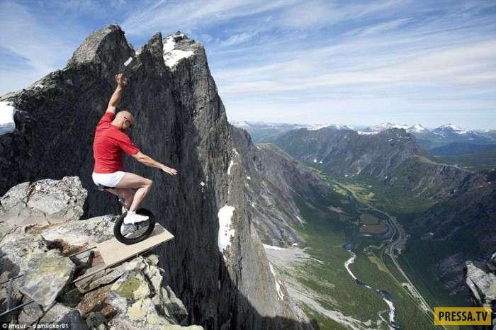 Храбрость или безрассудство? (20 фото)