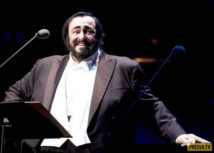 Самое интересное о выдающемся теноре современности Лучано Паваротти (10 фото + видео)