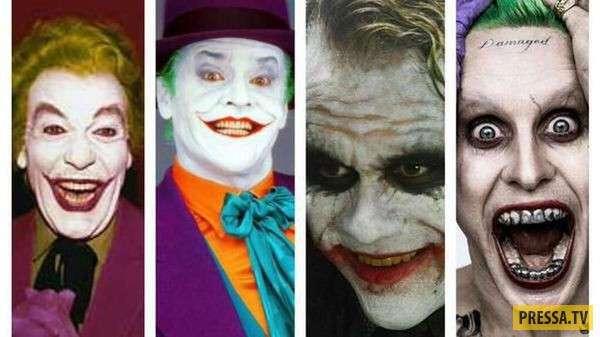 Известные персонажи, сыгранные несколькими актёрами (10 фото)