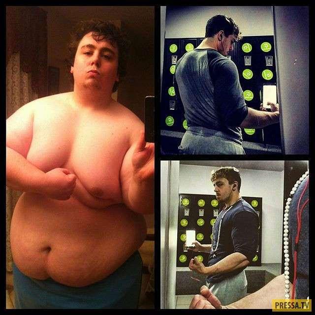 Он похудел на 111 кг и стал фитнес-тренером (5 фото)