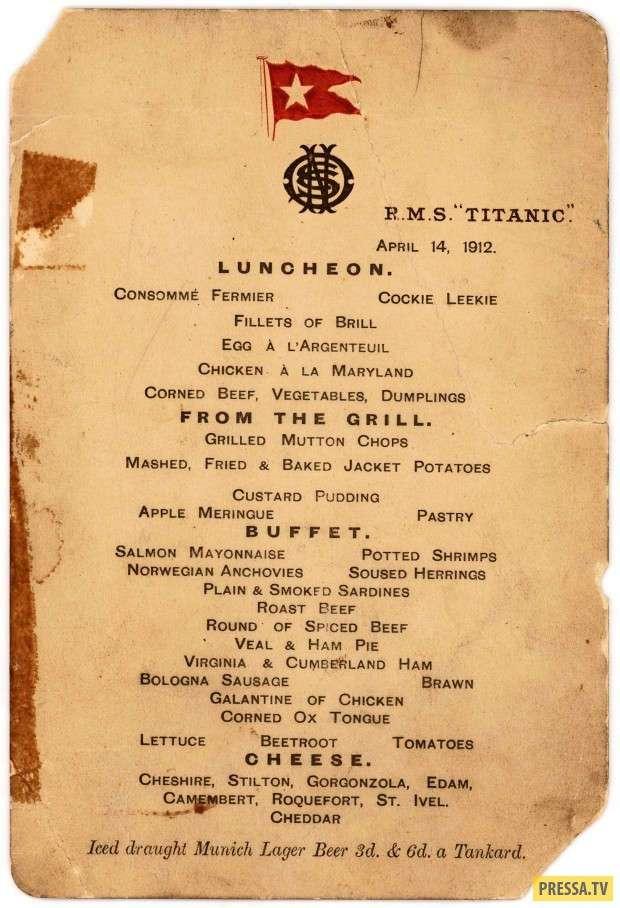 """Интересные факты о """"Титанике"""", которые вы могли не знать (13 фото)"""