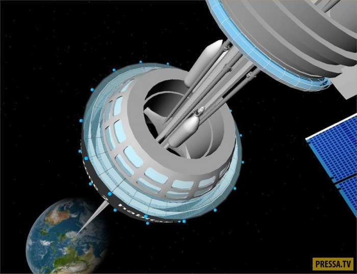 Насколько реально строительство космического лифта? (8 фото + видео)