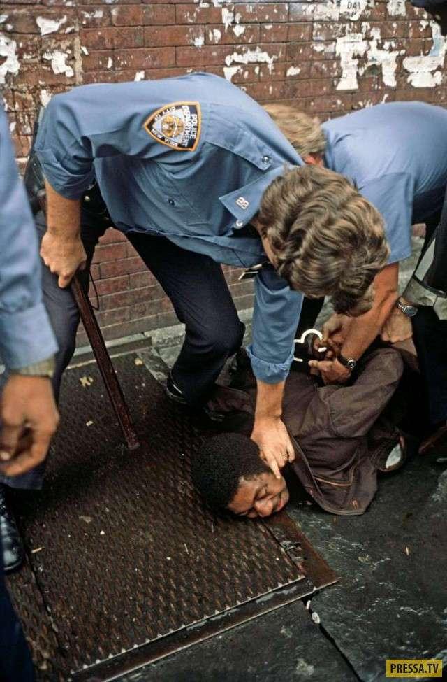 Преступность в Нью-Йорке в 1970-х (19 фото)