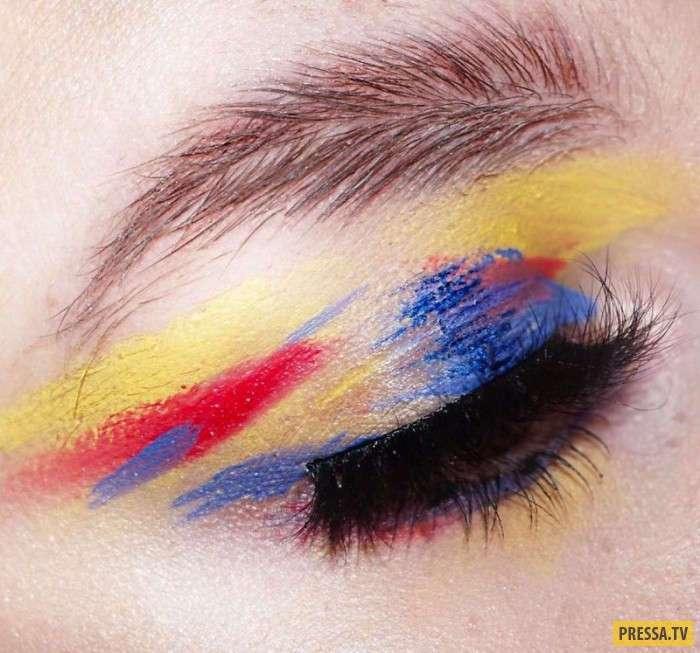 Брови-перья - новый тренд, которого никто не ждал (8 фото)