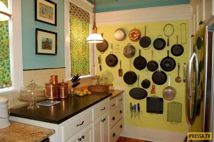 Советы дизайнера: как сделать маленькую кухню стильной и уютной (16 фото)
