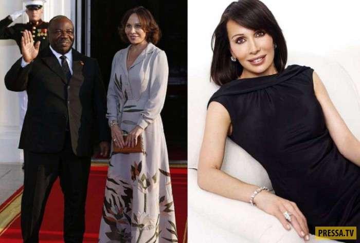 Красавицы и умницы - жены политических лидеров разных стран (11 фото)