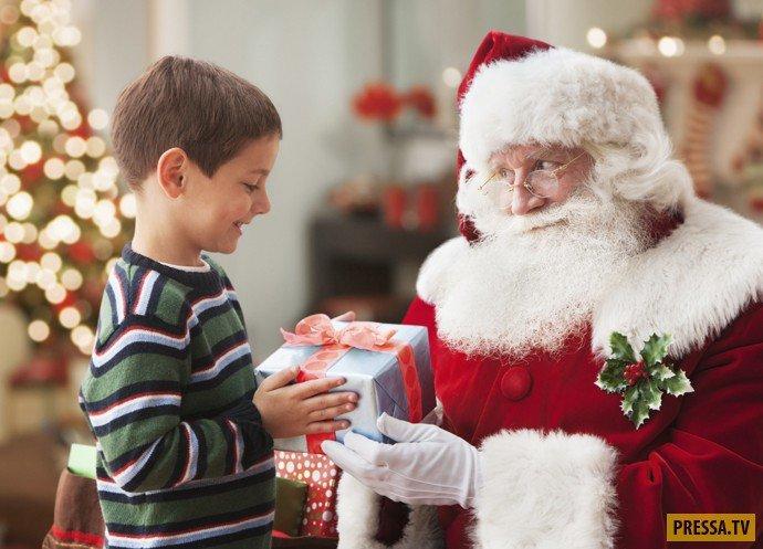 Потеря веры в Деда Мороза