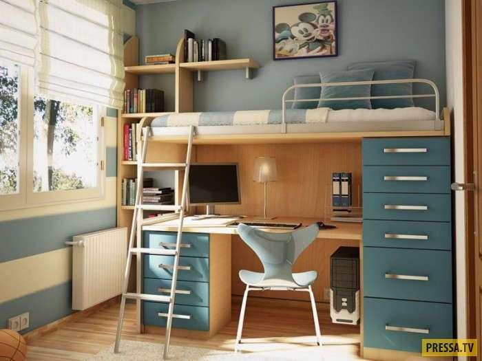 Превосходные идеи экономии пространства с помощью двухъярусных кроватей (20 фото)