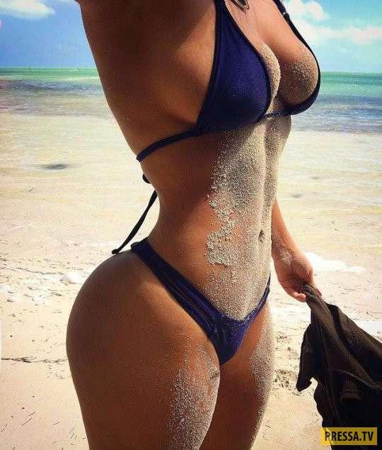 Лето, море и красивые девушки (58 фото)