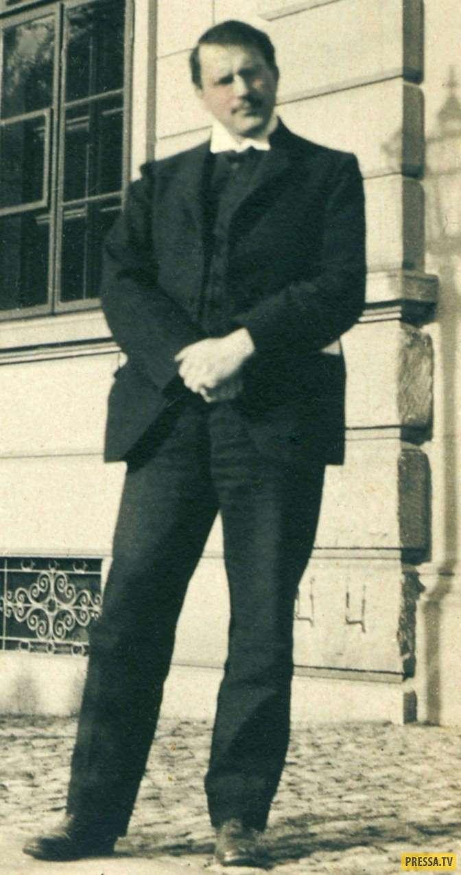 Малоизвестные фотографии знаменитостей прошлого (20 фото)
