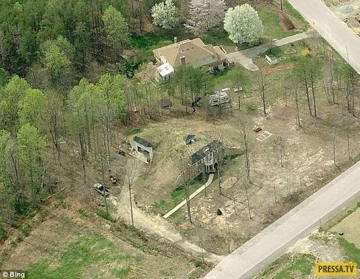 Для экономии энергоресурсов американец построил дом под землёй (24 фото)