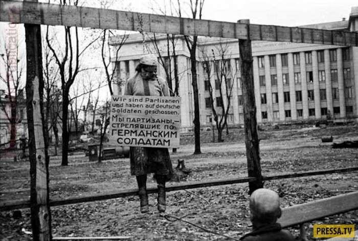 Раритетные снимки времён ВОВ (40 фото)