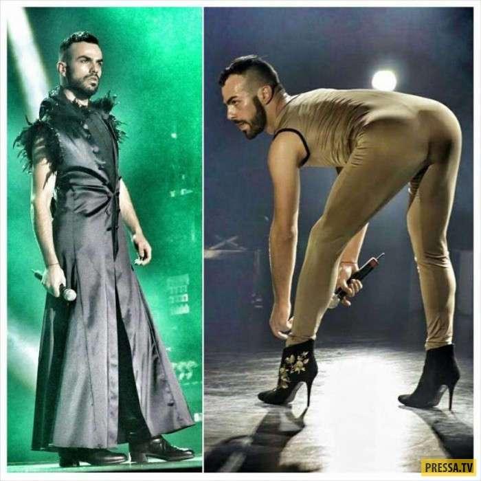 Славко Калезич из Черногории - необычный участник Евровидения (5 фото)