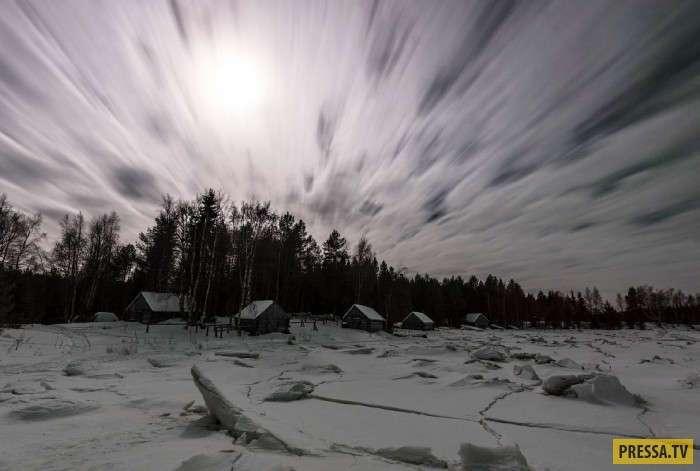 Северное сияние в Карелии (17 фото)