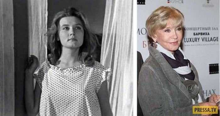 Наши любимые актёры в дебютных ролях и сейчас, часть 2 (16 фото)