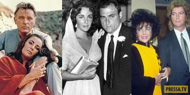 Знаменитости с большим количеством браков (4 фото)