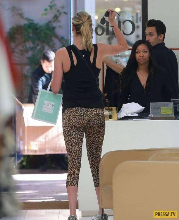 Папарацци шокированы внешним видом Кейт Аптон без макияжа (7 фото)