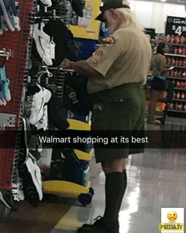 Эти американцы просто пришли за покупками в супермаркет (23 фото)