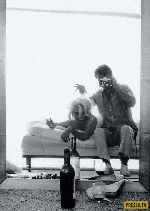 Винтажные селфи знаменитостей задолго до появления смартфонов (10 фото)