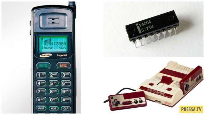 Самые первые изобретения известных брендов (11 фото)