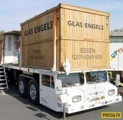 Удивительные и необычные грузовики (12 фото+1 видео)
