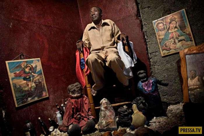 Сите-Солей город где правят бандиты и колдуны вуду (41 фото)