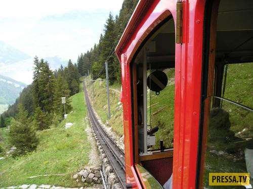Пилатусбан - самая крутая железная дорога в мире (22 фото)