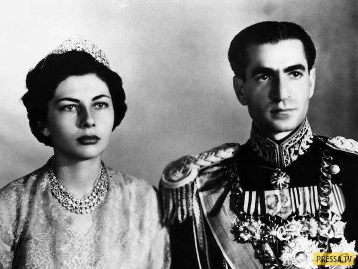 Трагическая судьба королевы Ирана Сорайи Исфандияри-Бахтиари (8 фото)