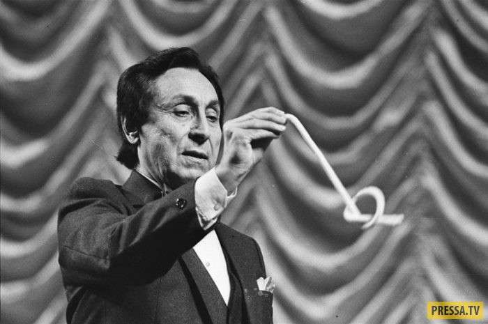 К 99-летию со дня рождения знаменитого иллюзиониста Арутюна Акопяна (13 фото)