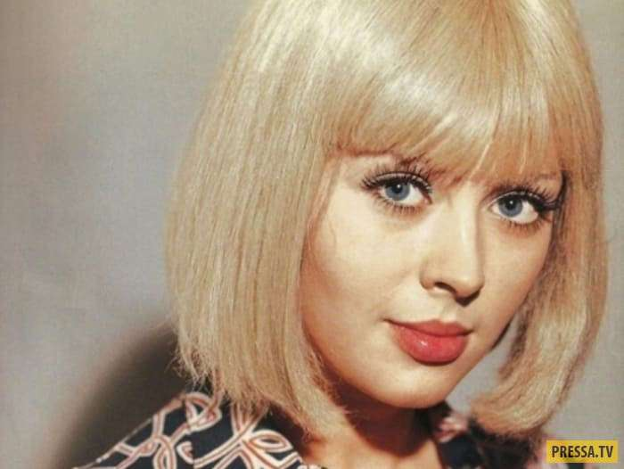 Ирина Азер - одна из самых красивых блондинок советского кино (17 фото)