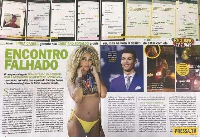 Бразильская красотка оказалась первой, отказавшей Криштиану Роналду (16 фото+1 видео)