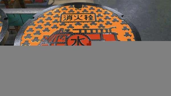 Расписные японские люки (22 фото)
