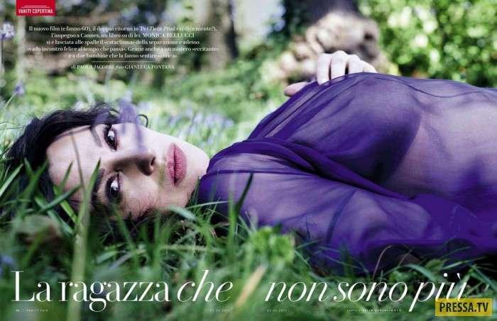 Моника Беллуччи в журнале Vanity Fair, май 2017 (12 фото)