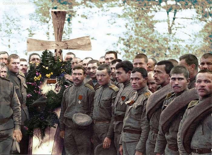 Исторические снимки в цвете