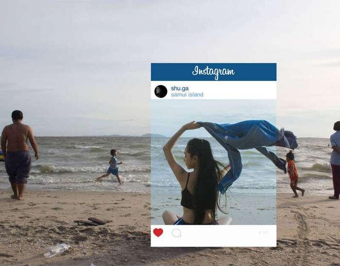 Как на самом деле выглядят фотографии из Инстаграма