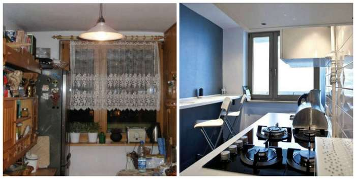 До и после: роскошная жизнь в небольшой квартире. В чем секрет?