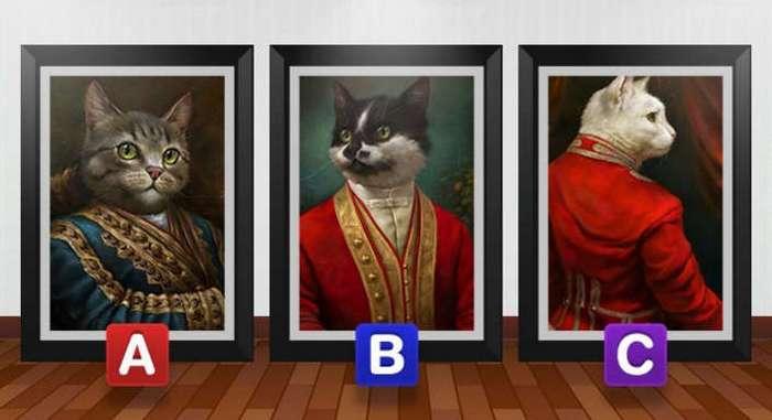 Выберите кота, который вам больше всего нравится, и узнайте кое-что о себе