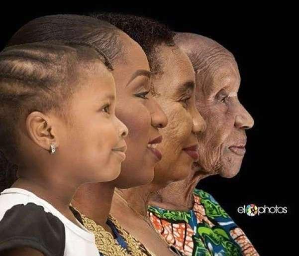 4 поколения на одном снимке. Прочтите их историю, вы не пожалеете!