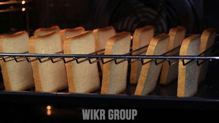 Готовим тосты для большой компании. В тостере? А вот и не угадали!