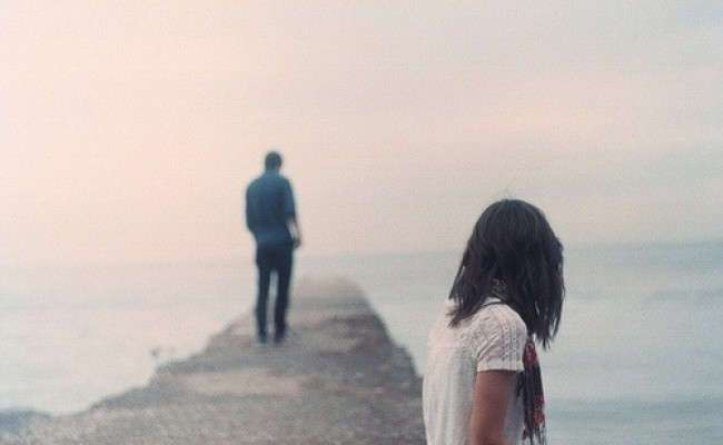 Разговор парня и девушки после расставания