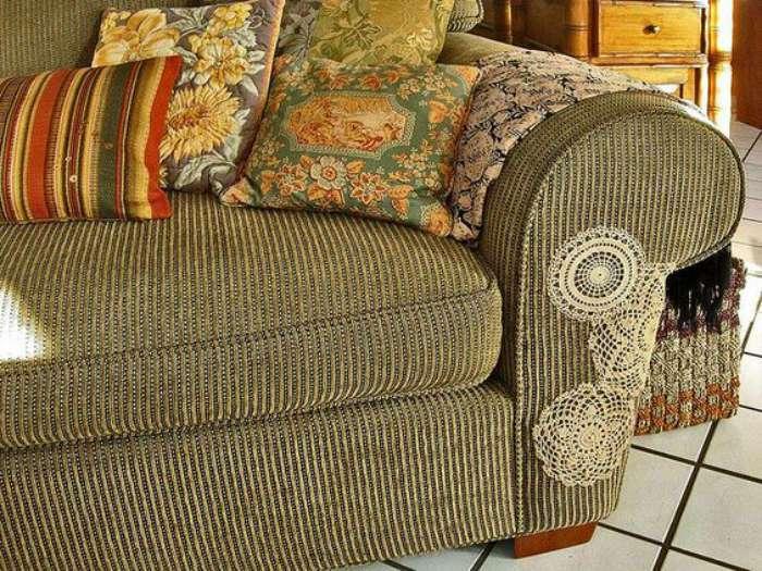 Усатый шкодник ободрал мебель? Не беда, дивану легко можно подарить вторую жизнь!