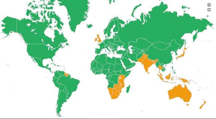 Почему в одних странах ездят по левой стороне, а в других - по правой?