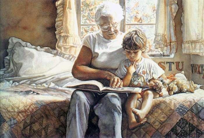 Мать была недовольна тем, что свекровь балует ее детей. И только после смерти свекрови у нее открылись глаза...
