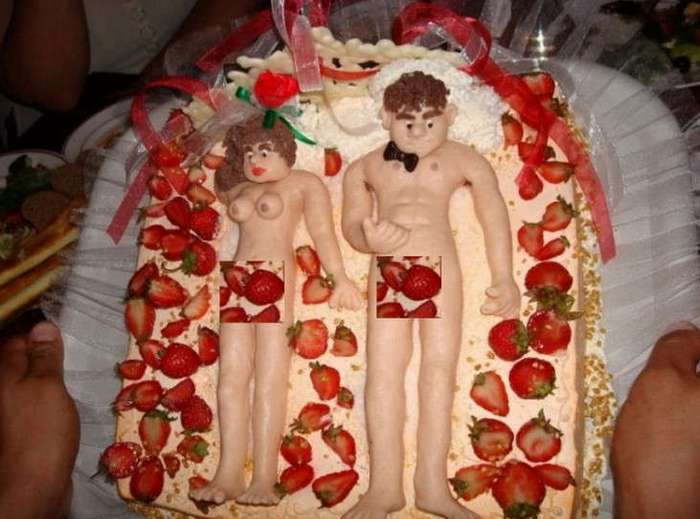 20 свадебных тортов, которые оказались полным провалом