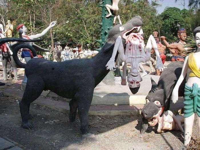 Парк ужасов в Тайланде (16 фото)