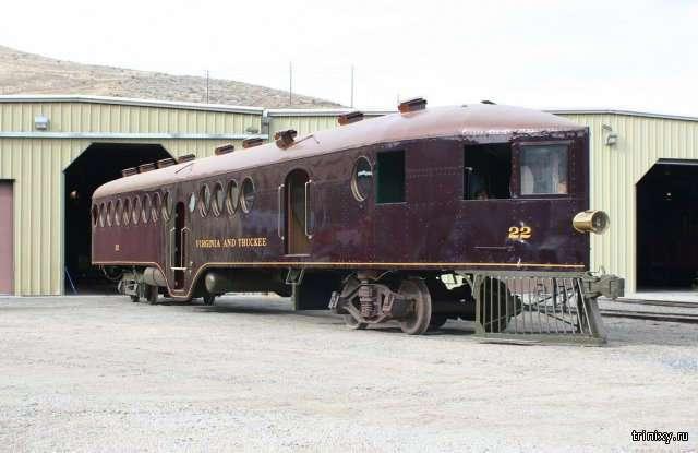 Самоходный вагон Маккина 1905 года выпуска (6 фото)