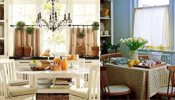 Трюки со шторами, которые моментально преобразят кухню. Просто и красиво!