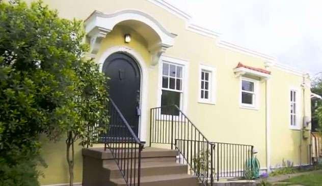Она построила дом шириной в 1 метр, чтобы отомстить своему жадному бывшему мужу