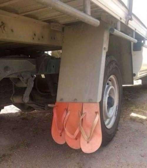 Необычные и странные транспортные средства (37 фото)