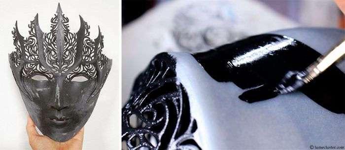 Крутые доспехи, напечатанные на 3D-принтере (17 фото)